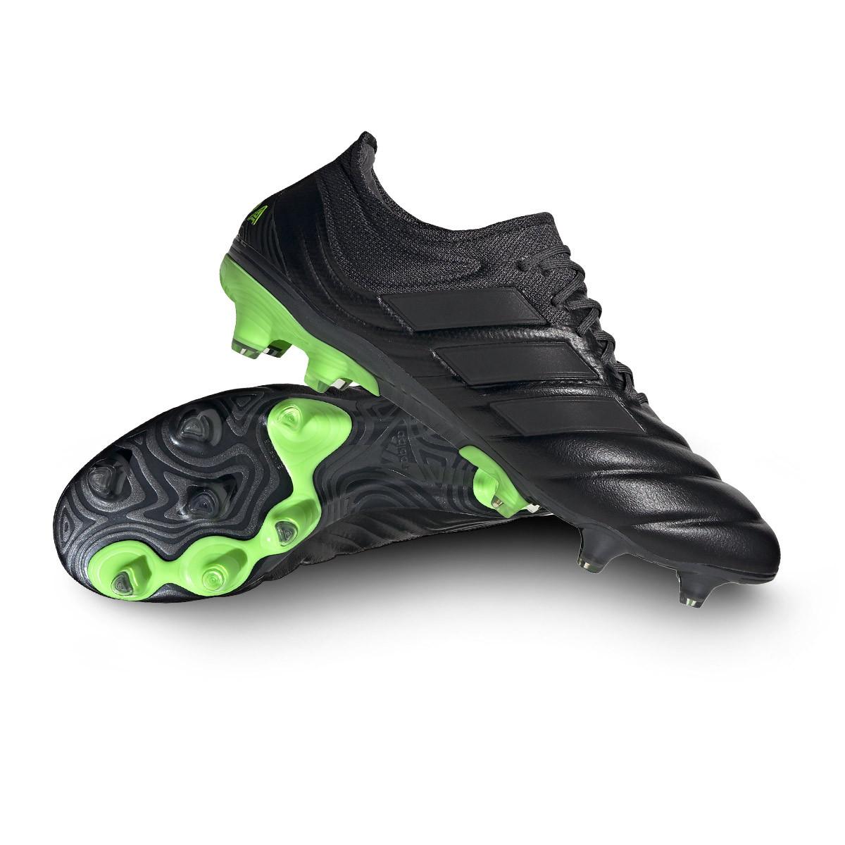 Electrizar gemelo Posibilidades  Bota de fútbol adidas Copa 20.1 FG Core black-Signal green - Tienda de fútbol  Fútbol Emotion