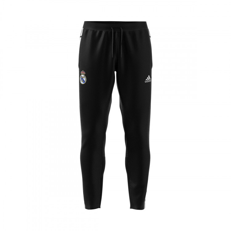 Pantalon Largo Adidas Real Madrid Icons 2020 2021 Black White Tienda De Futbol Futbol Emotion