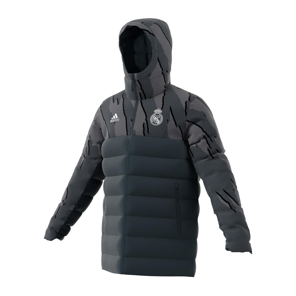 vendedor Oblicuo no pueden ver  Jacket adidas Real Madrid Seasonal Special Down 2020-2021 Dark grey-White -  Football store Fútbol Emotion