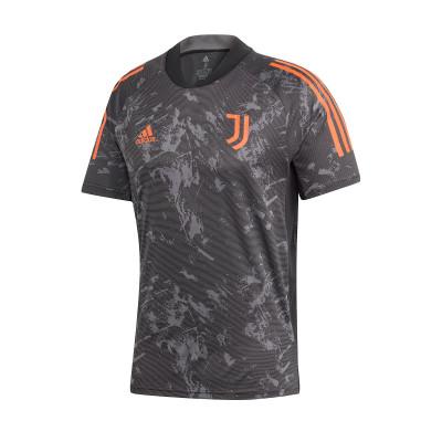 jersey adidas juventus european training 2020 2021 black app signal orange football store futbol emotion adidas juventus european training 2020 2021 jersey