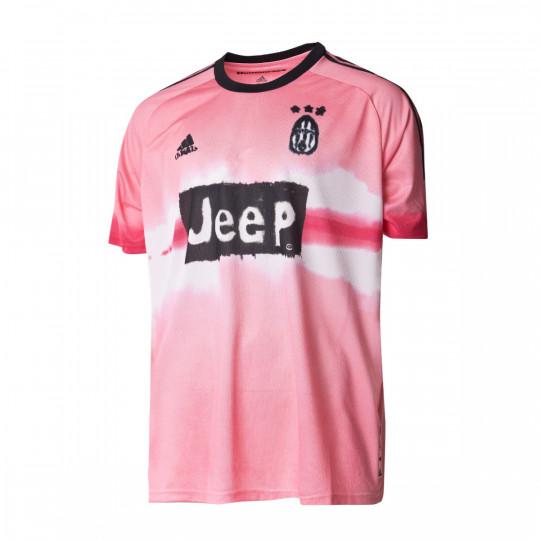 jersey adidas juventus human race 2020 2021 glow pink black football store futbol emotion jersey adidas juventus human race 2020 2021 glow pink black