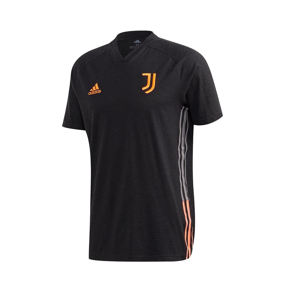 jersey adidas juventus travel 2020 2021 black app signal orange football store futbol emotion adidas juventus travel 2020 2021 jersey