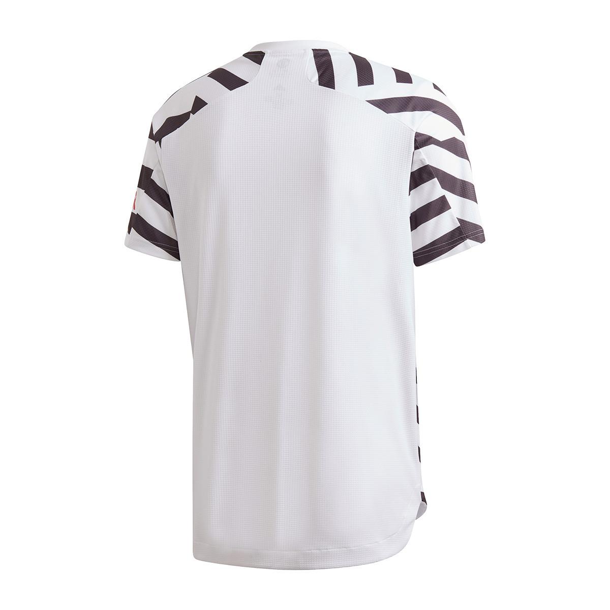 Jersey Adidas Manchester United Fc Authentic 2020 2021 Third White Black Football Store Futbol Emotion