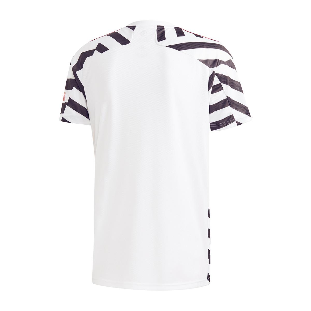 maglia adidas manchester united fc tercera equipacion 2020 2021 white black negozio di calcio futbol emotion www plumascourt ca gov