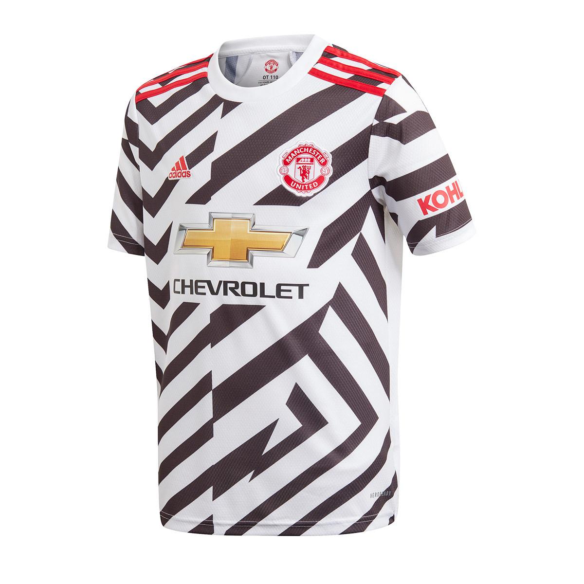adidas Kids Manchester United FC Third Jersey