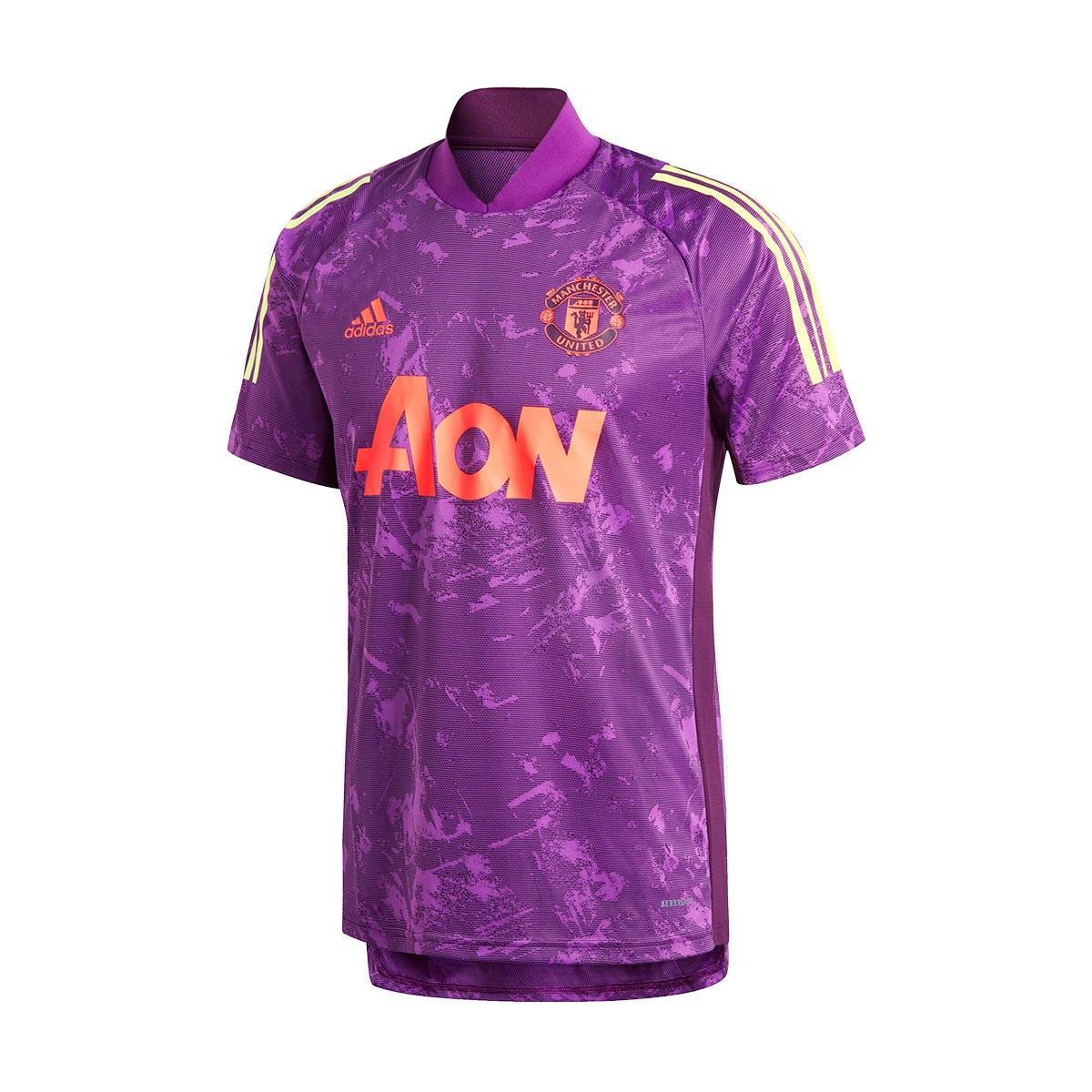 Jersey Adidas Manchester United Fc European Training 2020 2021 Glory Purple Football Store Futbol Emotion