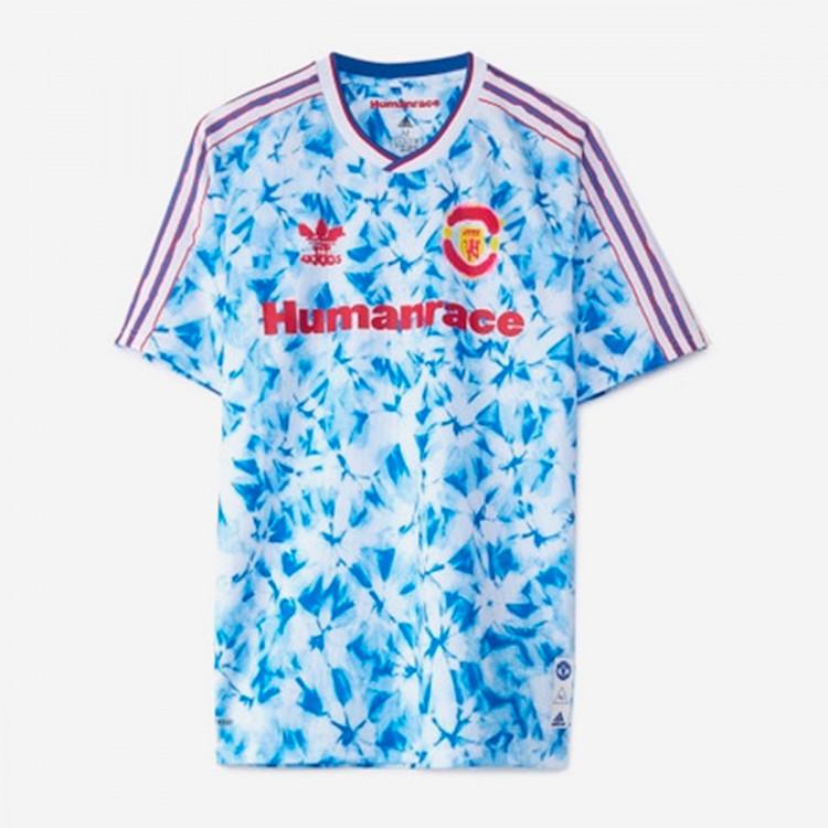 Jersey adidas Kids Manchester United Human Race 2020-2021 White ...