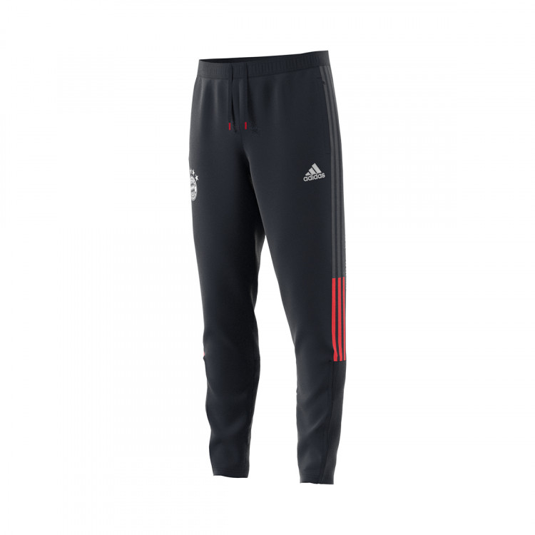 Debilitar Maligno Mitones  Long pants adidas FC Bayern Munich Travel Night grey-White-Bayern true red  - Football store Fútbol Emotion