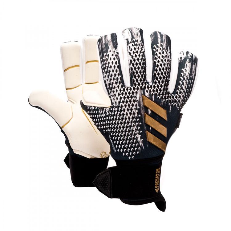 Búsqueda 鍔 Final  Guante de portero adidas Predator Pro Ultimate Black-White-Gold metallic -  Tienda de fútbol Fútbol Emotion