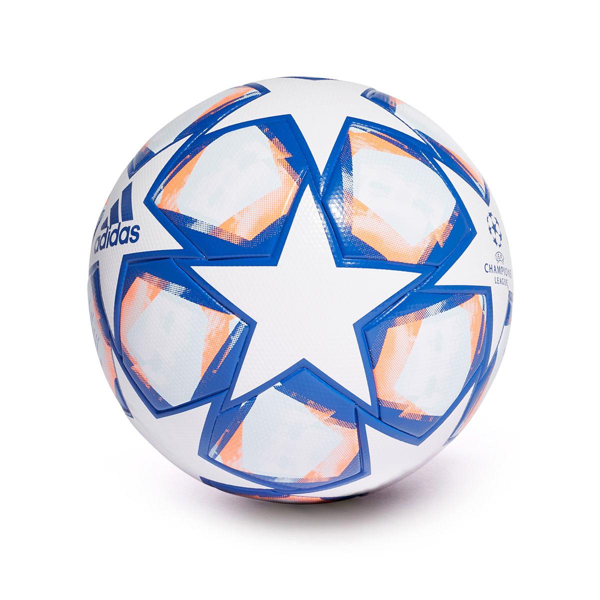 el viento es fuerte Descenso repentino Sillón  Balón adidas Finale 20 League Champions League White-Team royal blue-Signal  coral-Sky tint - Tienda de fútbol Fútbol Emotion