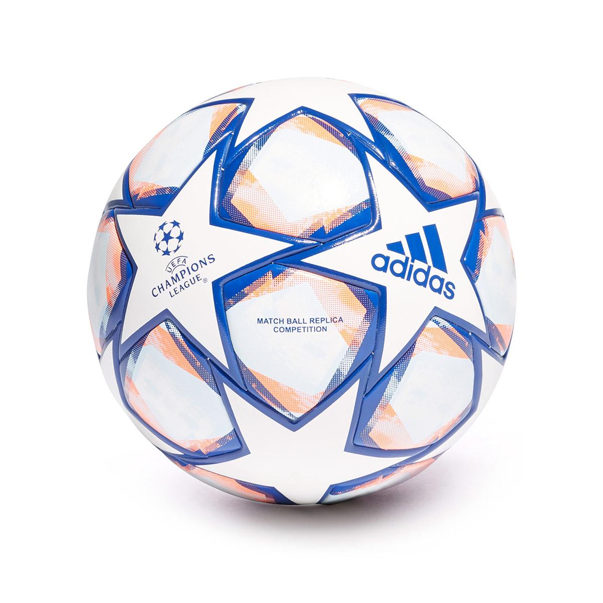 Molesto Controlar difícil de complacer  Balón adidas Finale 20 Competition Champions League White-Team royal  blue-Signal coral-Sky tint - Tienda de fútbol Fútbol Emotion