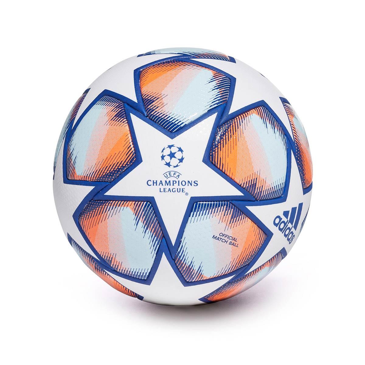 Ball adidas Finale 20 Pro Champions League White-Team royal blue ...