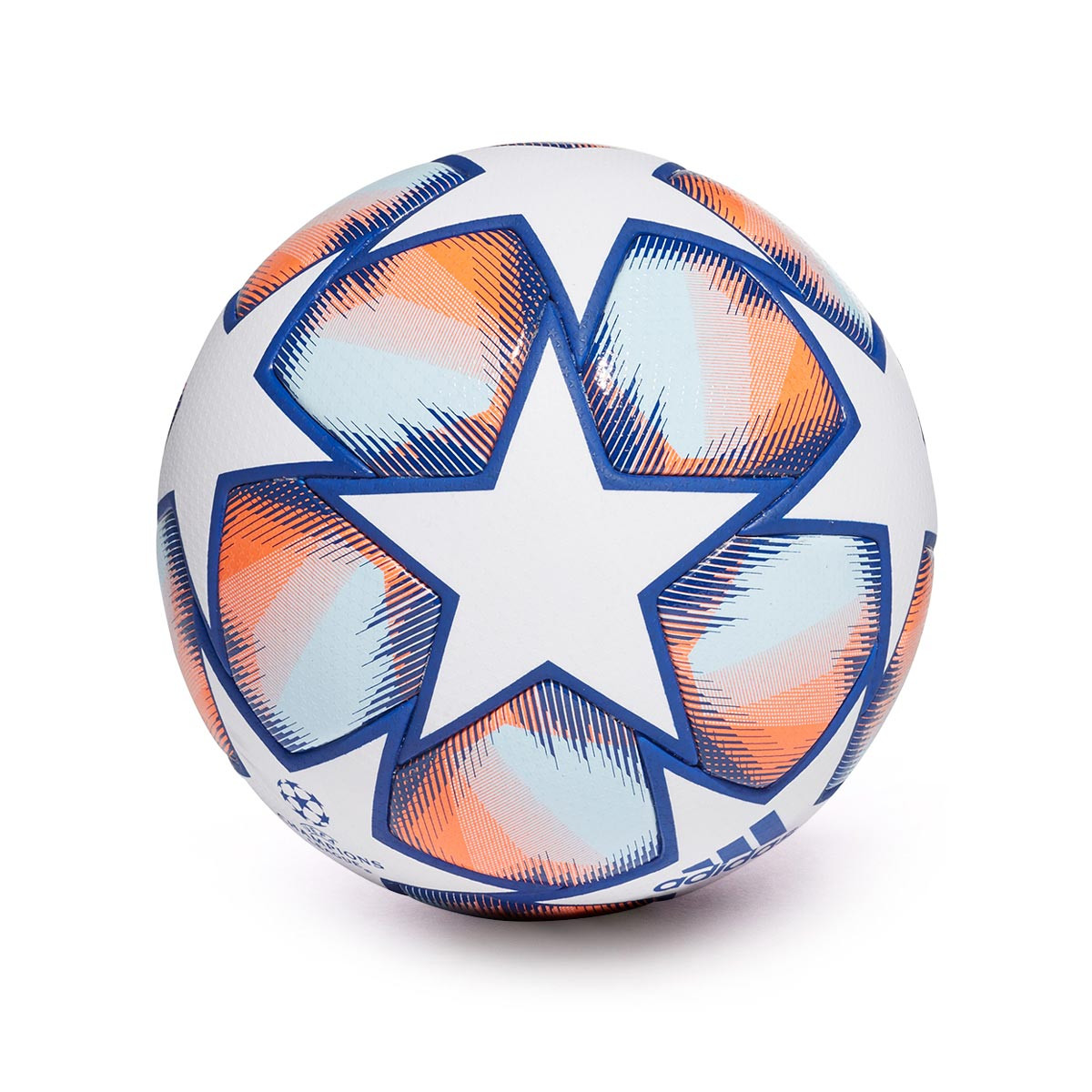 Ahora microondas Acompañar  Balón adidas Finale 20 Pro Champions League White-Team royal blue-Signal  coral-Sky tint - Tienda de fútbol Fútbol Emotion