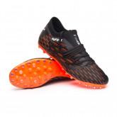 Zapatos de fútbol Future 6.3 Netfit MG Puma Black-Puma White-Shocking Orange
