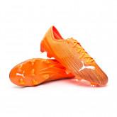 Chaussure de foot Ultra 2.1 FG/AG Shocking Orange-Puma Black