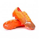 Chaussure de foot Ultra 2.1 FG/AG Niño Shocking Orange-Puma Black