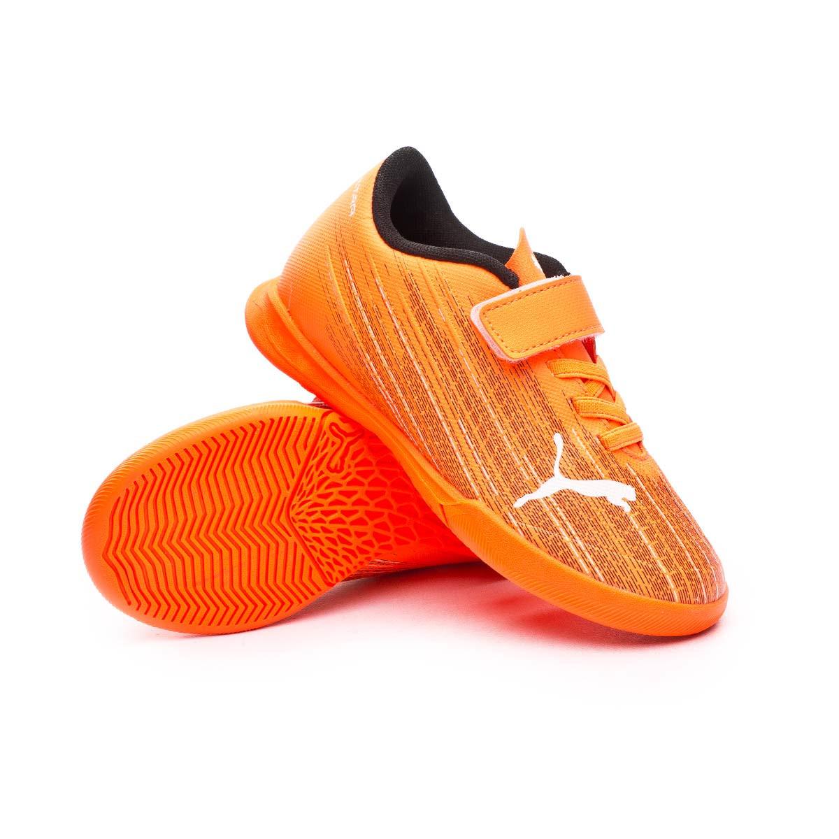 Chaussure de futsal Puma Ultra 4.1 IT Cinta Adhesiva Niño Shocking ...