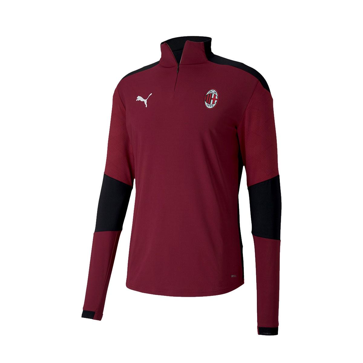 Felpa Puma AC Milan Training 1/4 Zip Top