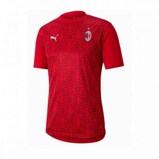 Maglia Puma AC Milan Stadium 2020-2021 Tango Red -Puma Black