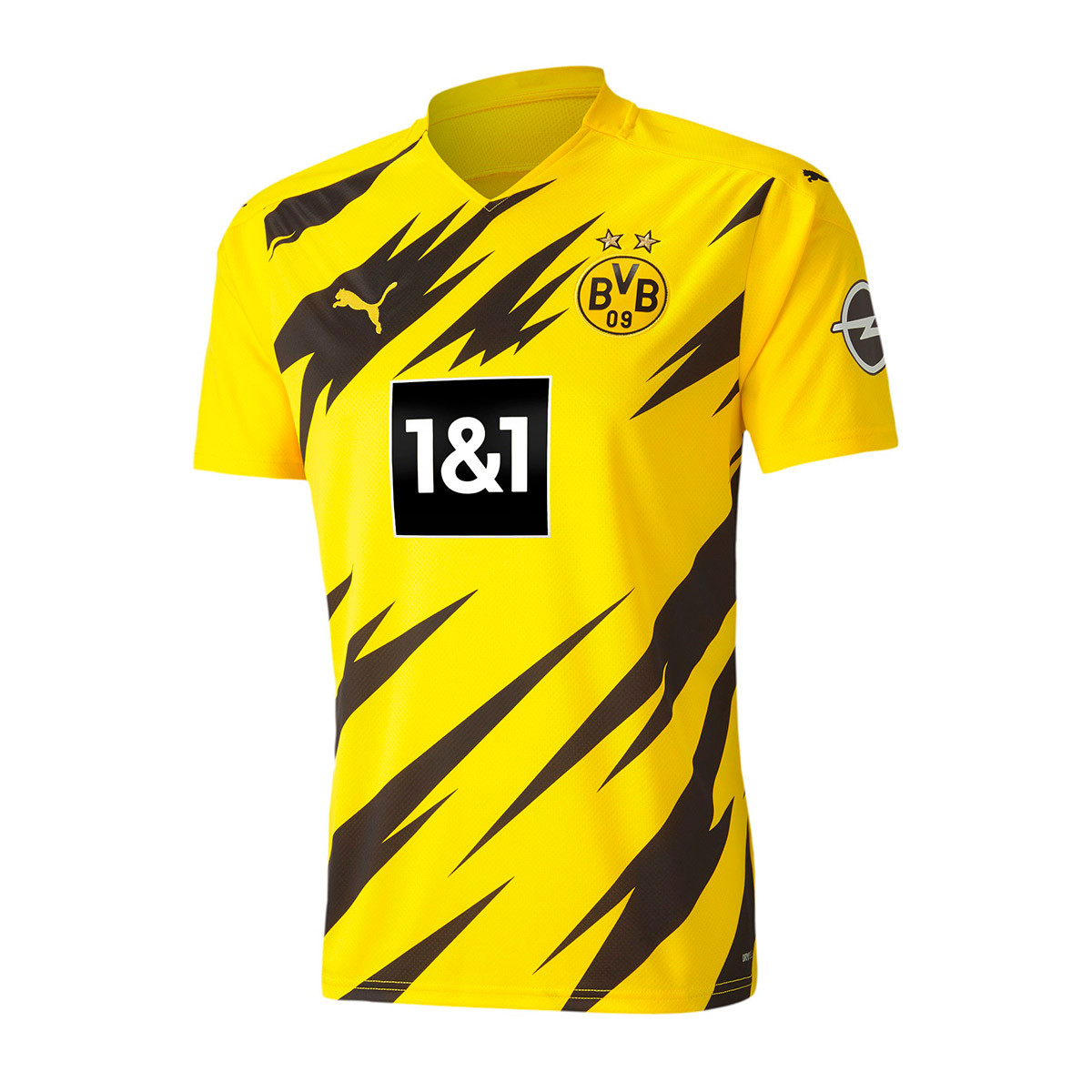 Jersey Puma Bvb Borussia Dortmund 2020 2021 Home Cyber Yellow Puma Black Football Store Futbol Emotion