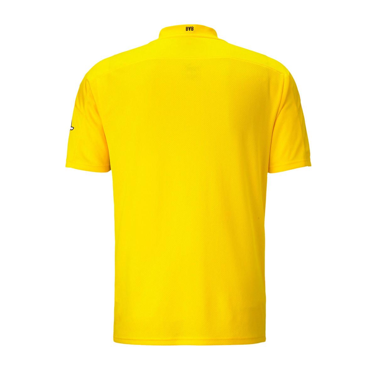 Jersey Puma Bvb Borussia Dortmund 2020 2021 Home Cyber Yellow Puma Black Football Store Futbol Emotion