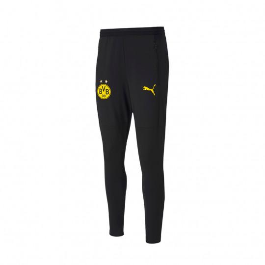 Pantaloni lunghi Puma BVB Borussia Dortmund Training 2020-2021 Puma black-Cyber yellow