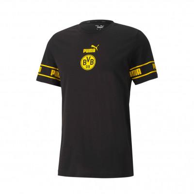 Jersey Puma Bvb Borussia Dortmund Ftblculture 2020 2021 Puma Black Cyber Yellow Football Store Futbol Emotion