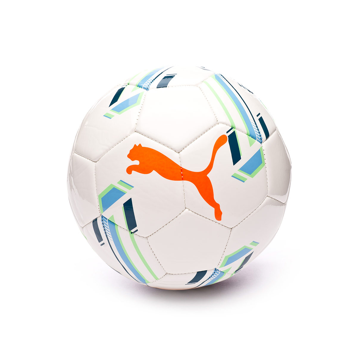 Mutuo cantante Disciplinario  Ball Puma Futsal 1 Trainer MS Puma White-Digi-blue-Shocking Orange-Elektro  - Football store Fútbol Emotion
