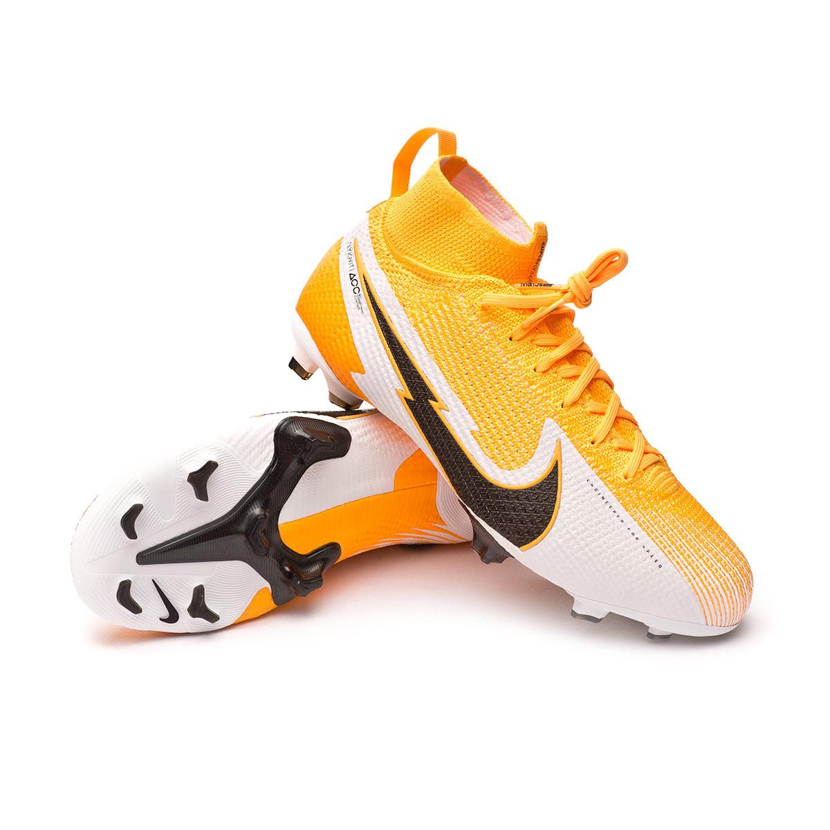 Laos mostaza Jarra  Zapatos de fútbol Nike Mercurial Superfly VII Elite FG Niño Laser  orange-Black-White-Laser orange - Tienda de fútbol Fútbol Emotion