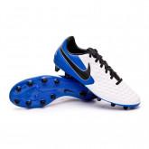 Football Boots Tiempo Legend VIII Pro AG-PRO White-Black-Hyper royal-Metallic silver