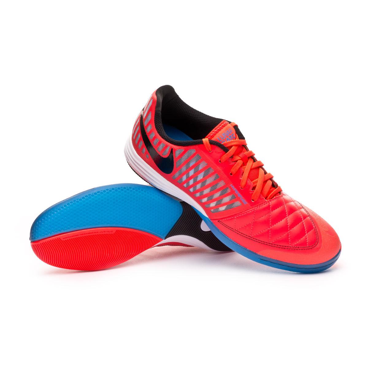 semiconductor pierna Cerveza  Futsal Boot Nike Lunar Gato II Bright crimson-Black-White-Photo blue -  Football store Fútbol Emotion