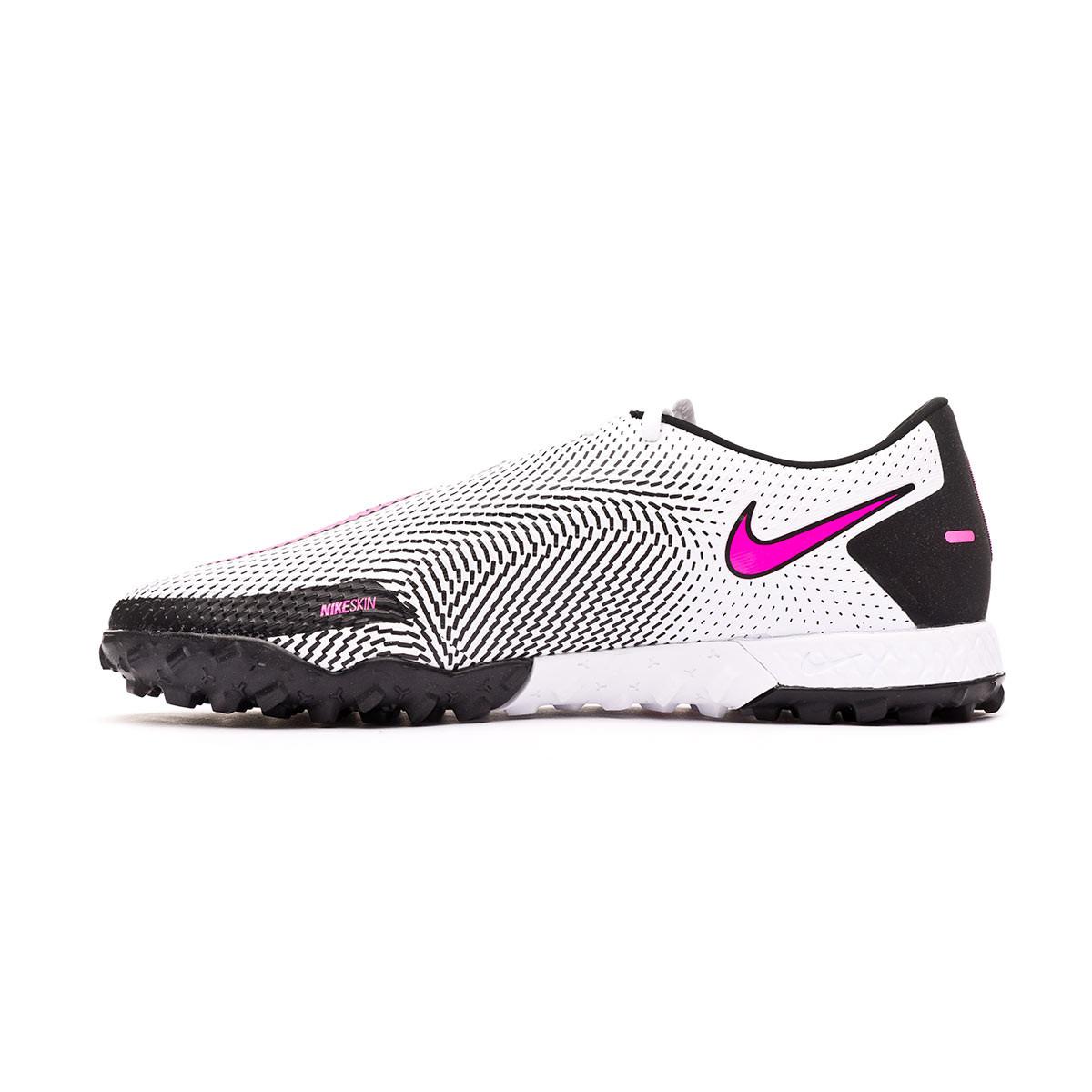 acelerador Picasso complicaciones  Football Boots Nike React Phantom GT Pro Turf White-Pink blast-Black -  Football store Fútbol Emotion