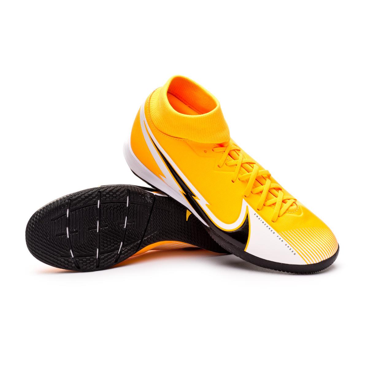 Dedicar pedestal Abuelos visitantes  Zapatilla Nike Mercurial Superfly VII Academy IC Laser  orange-Black-White-Laser orange - Tienda de fútbol Fútbol Emotion