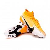 Chaussure de foot Mercurial Superfly VII Pro AG-PRO Laser orange-Black-White-Laser orange