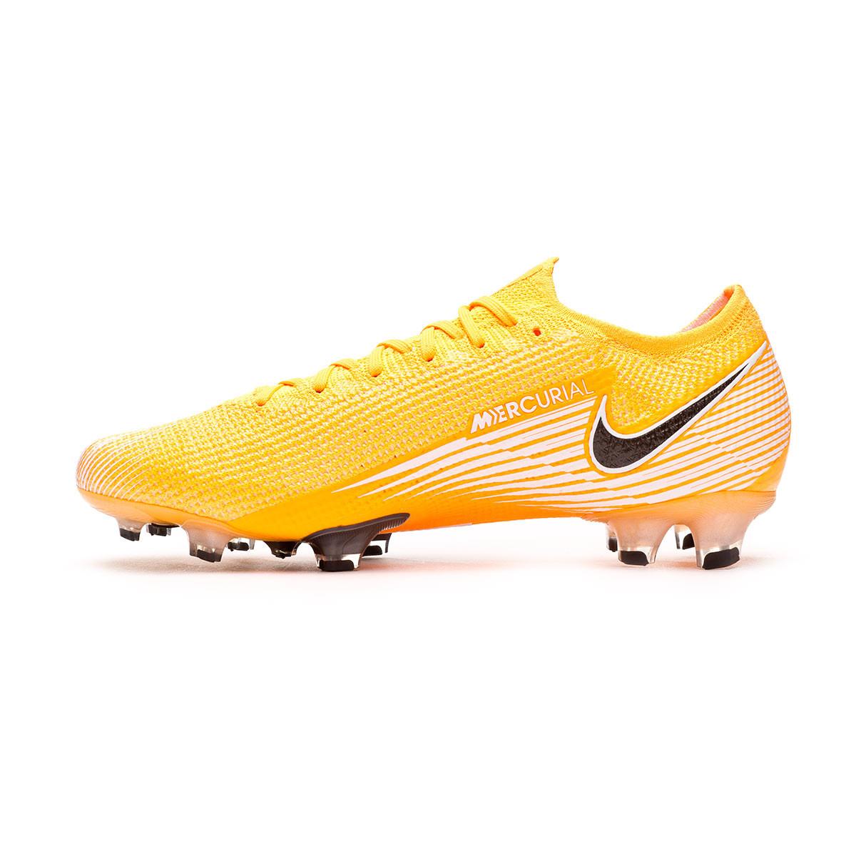 Oh segundo Prisionero  Football Boots Nike Mercurial Vapor XIII Elite FG Laser  orange-Black-White-Laser orange - Football store Fútbol Emotion