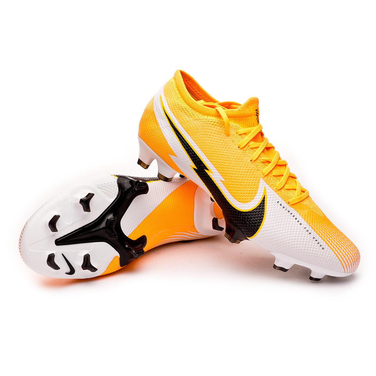 chaussures foot nike mercurial orange