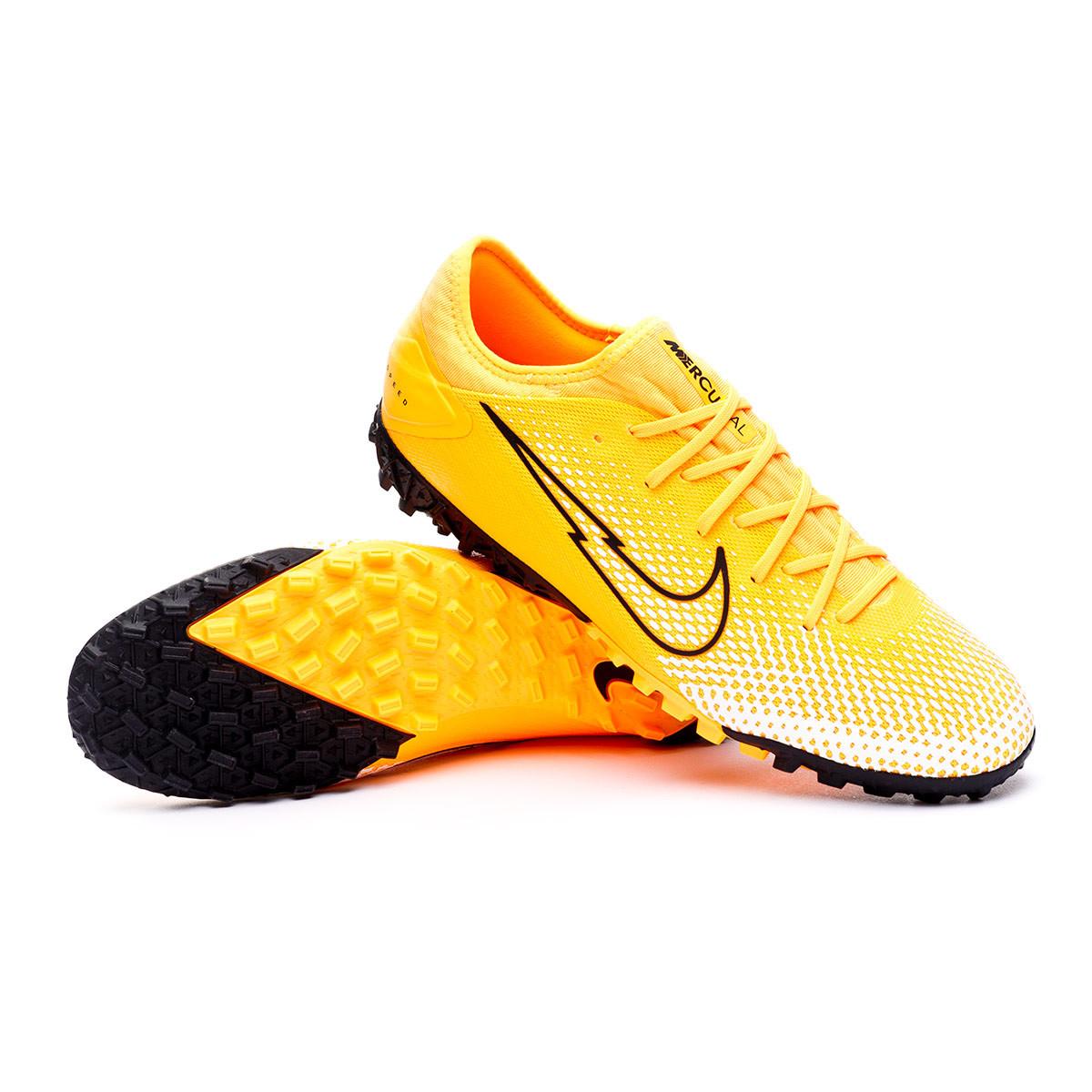 nike football boots black and orange