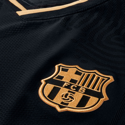 Polinizador evolución Ciudad Menda  Jersey Nike FC Barcelona Vapor Match 2020-2021 Away Black-Metallic gold -  Football store Fútbol Emotion
