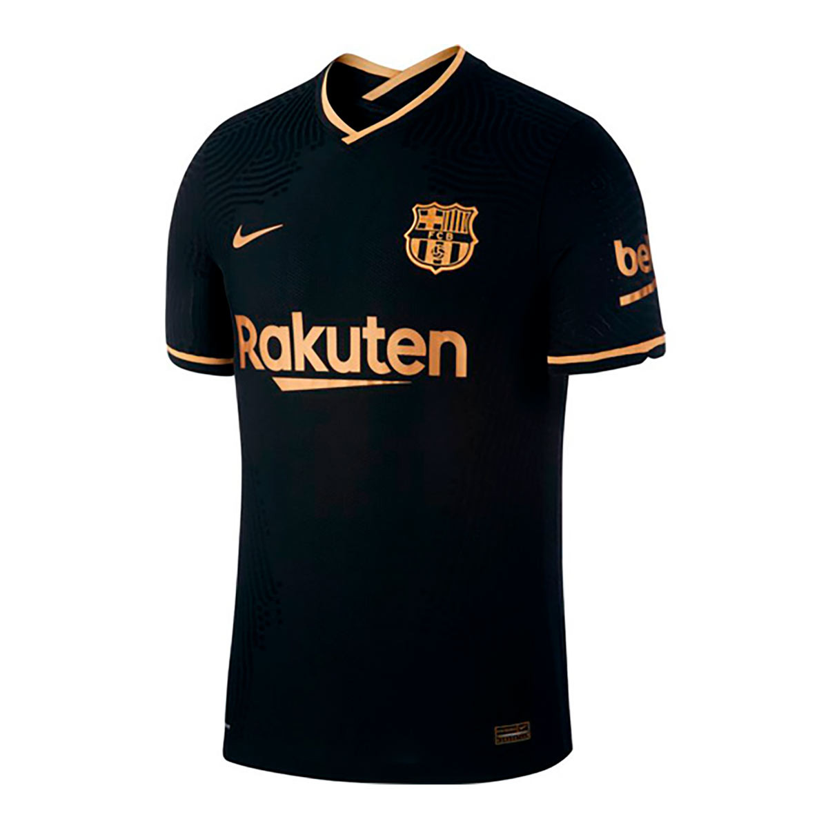 telegrama perro Posibilidades  Jersey Nike FC Barcelona Vapor Match 2020-2021 Away Black-Metallic gold -  Football store Fútbol Emotion
