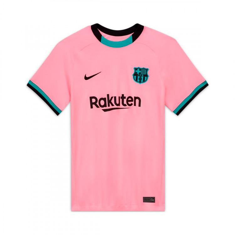 Jersey Nike Fc Barcelona Stadium Tercera Equipacion 2020 2021 Mujer Pink Beam Black Football Store Futbol Emotion