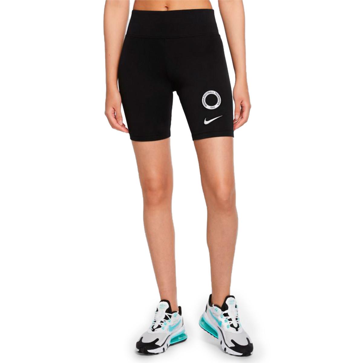 Shorts Nike Women Nigeria Nsw Legasse Bike 2020 2021 Black Whit Futbol Emotion