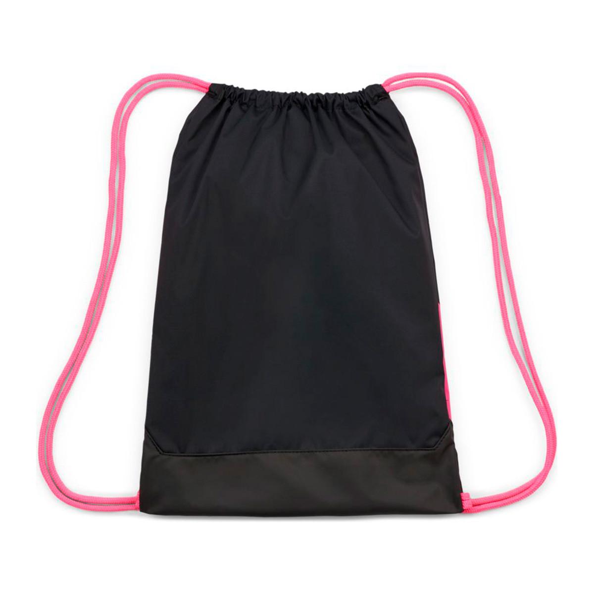 Escultor Recomendado Evaluación  Bag Nike Gym Sack Phantom Black-Pink blast-White - Football store Fútbol  Emotion