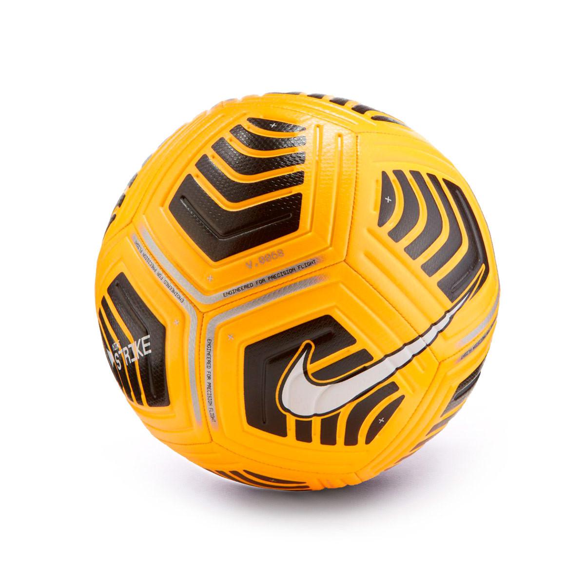 Pallone Nike Strike Laser Orange Black White Fútbol Emotion