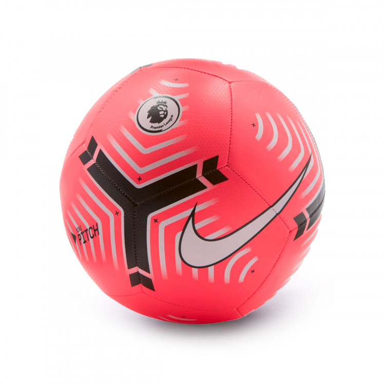 fe diseñador Buscar  Ball Nike Premier League Pitch 2020-2021 Racer pink-White-Black - Football  store Fútbol Emotion