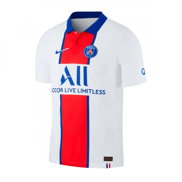 Jersey Nike Paris Saint Germain Vapor Match Segunda Equipacion 2020 2021 White Old Royal Football Store Futbol Emotion