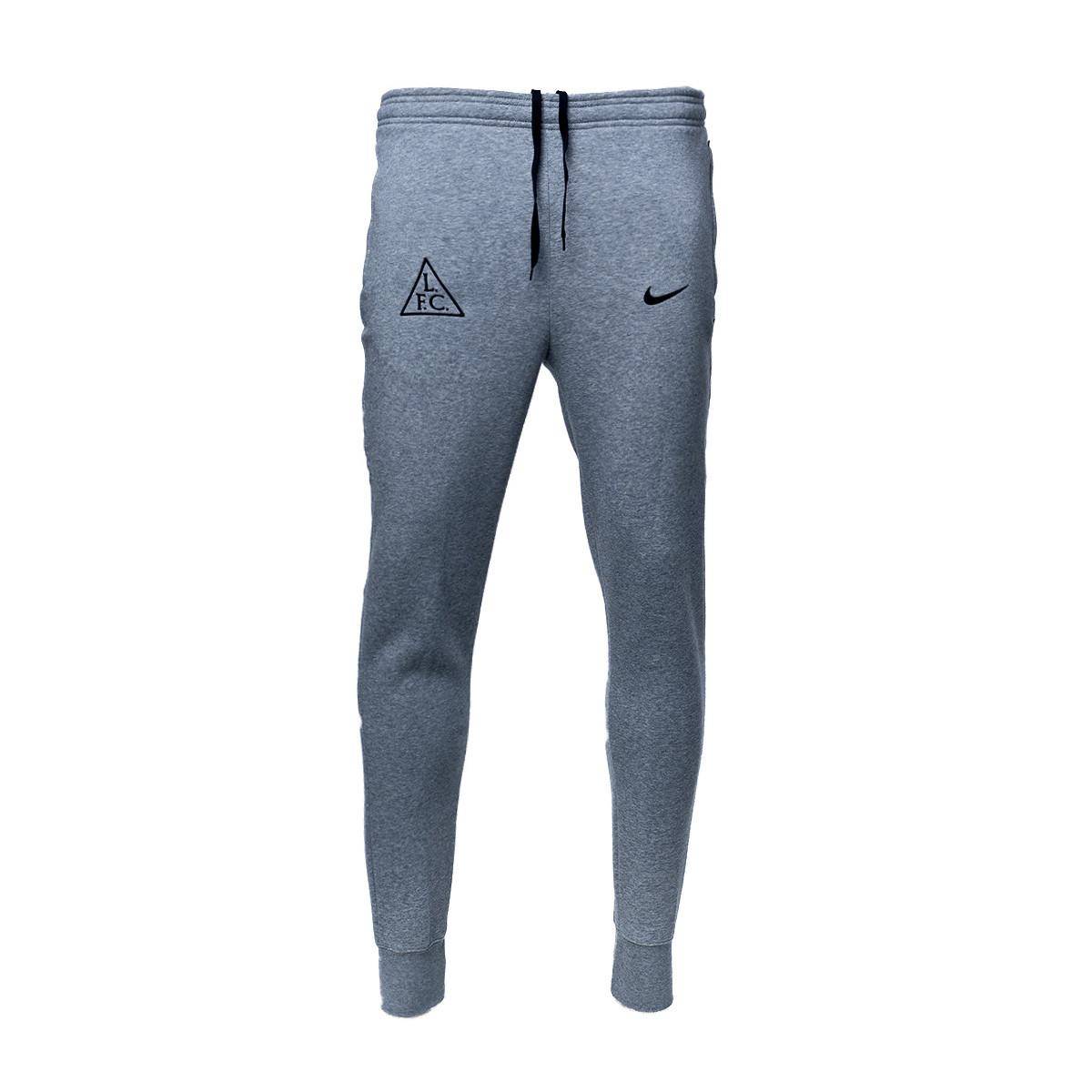 Long Pants Nike Liverpool Fc Gfa Fleece 2020 2021 Dark Grey Heather Black Football Store Futbol Emotion