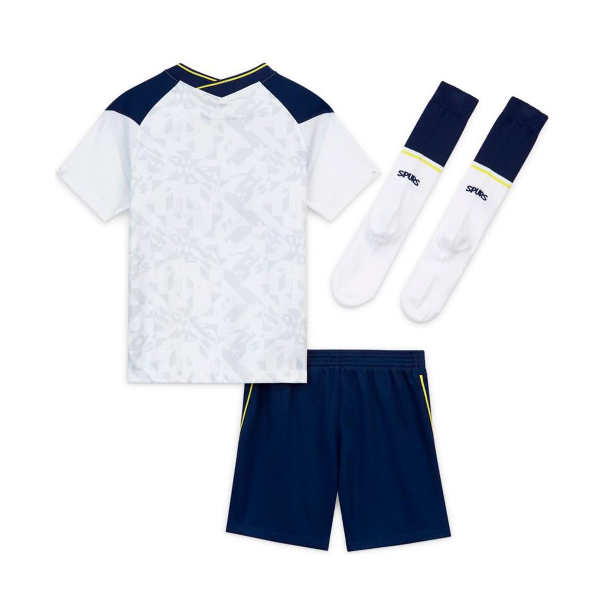 Kit Nike Tottenham Hotspur Fc Primera Equipacion 2020 2021 Nino White Binary Blue Football Store Futbol Emotion