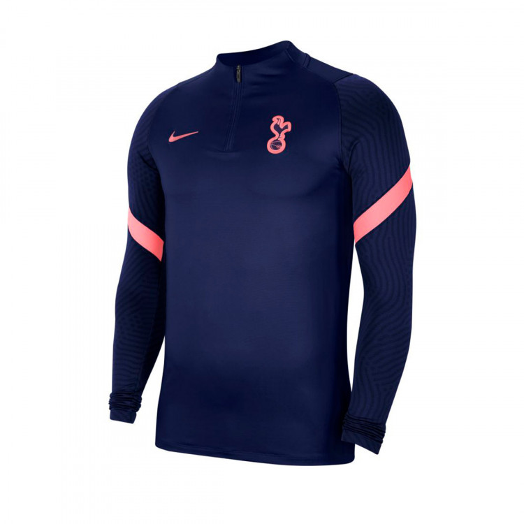 Sweatshirt Nike Tottenham Hotspur Fc Dri Fit Strike Dril Top 2020 2021 Binary Blue Binary Blue Lava Glow Football Store Futbol Emotion