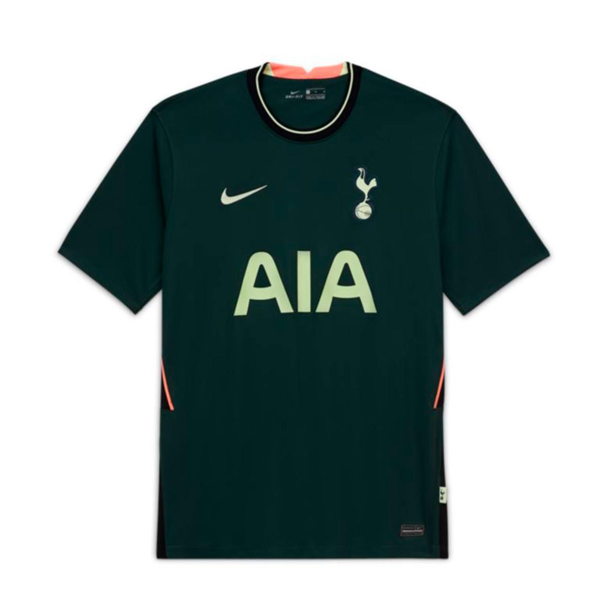 Jersey Nike Tottenham Hotspur Fc Stadium Segunda Equipacion 2020 2021 Nino Pro Green Barely Volt Football Store Futbol Emotion