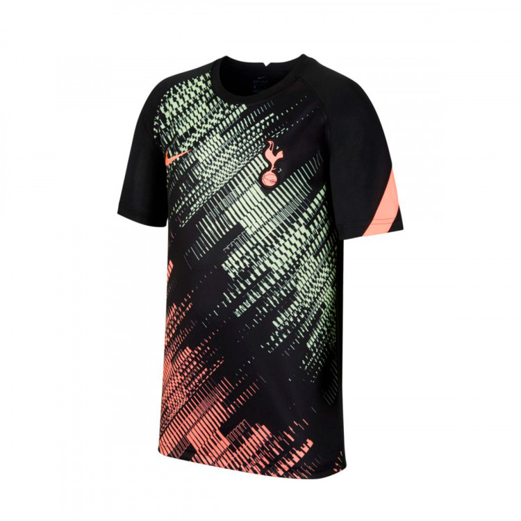 Jersey Nike Tottenham Hotspur Fc Pre Match Top 2020 2021 Nino Black Lava Glow Lava Glow Football Store Futbol Emotion